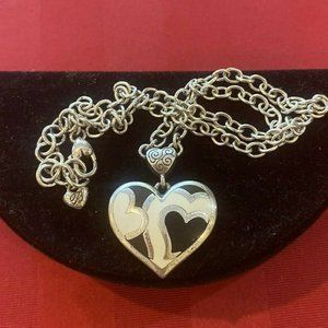 Brighton TEMPEST HEARTS Reversible Necklace